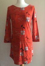 White Stuff Cotton Dress Orange Print size 8 (Seconds)