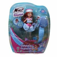 Winx Club Odysea Explorer Bloom Bambola Doll Fata Sirena
