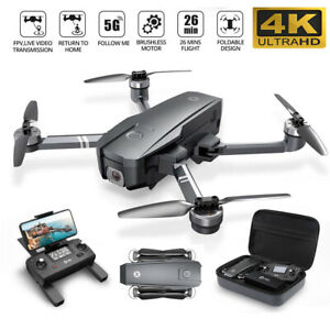 Holy Stone HS720 GPS Drone Helicopters with 4K UHD Camera RC Quadcopter 2Battery