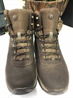 Merrell Men's Vego Mid Wapterproof Espresso Brown Leather Hiking Boots Size 9