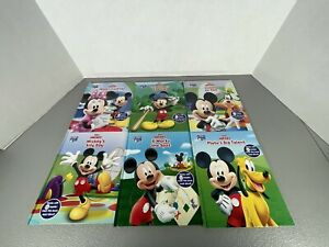 Lot of 6 Story Reader Me Reader Books Disney Jr Mickey Mouse Club House
