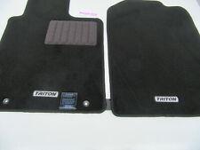 TRITON ML MN MITSUBISHI 2007-2017 Single Cab Floor Mats carpet Brand New Genuine