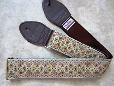 SOULDIER Guitar Strap PERSIAN COPPER // Vintage Style Custom Woven Tapestry