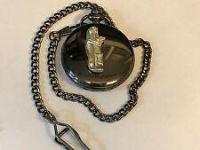 Sac de golf TG17 étain sur un noir montre de poche Quartz Fob