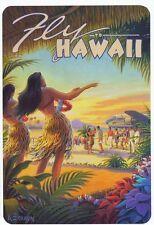 A3 - US HAWAII DANCING GIRL - vintage retro travel & railways posters #3