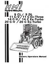 Hydra Mac 9 Cl 9 Dl 11 C V Skid Loader Operator Manual Gas Amp Diesel
