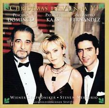 CD audio.../..CHRISTMAS IN VIENNA VI../...DOMINGO...KAAS...FERNANDEZ...
