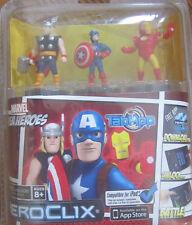 Marvel Super Heroes Avengers TABAPP Marvel Heroclix Thor, Cap Amer, Ironman