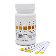 Total Water Hardness Test Strips / Kit - Easy & Accurate Method - 50 Strips