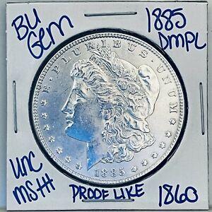 1885 BU GEM MORGAN SILVER DOLLAR COIN #1860 FREE SHIPPING UNC MS+++