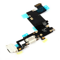 White Charging Port Replacement For iPhone 7 plus MIC Headphone Flex Cable Parts