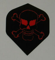 5 Sets RED SKULL Standard Dart Flights - FREE SHIPPING m326
