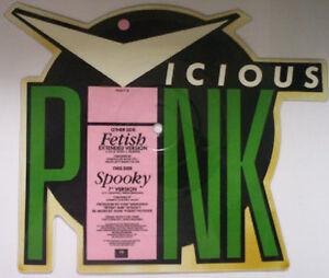 "Vicious Pink, Fetish, NEW* UK Ltd edition SHAPED PICTURE DISC 7"" vinyl single"