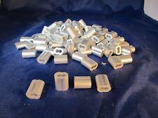 1/8 Aluminum Ferrules (100 Pack)