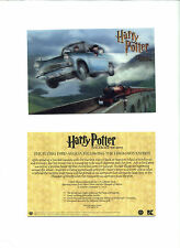SET OF 4 HARRY POTTER AND THE CHAMBER OF SECRETS  3D CARDS