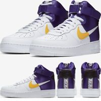 Nike Air Force 1 High '07 LV8 NBA LAKERS Sneakers Men's Lifestyle Comfy Shoes