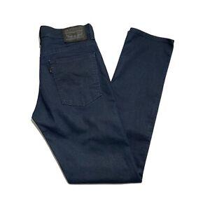 Levi's 511 Slim Fit Men's Coated Stretch Denim Jeans - Indigo Blue W32 x L34