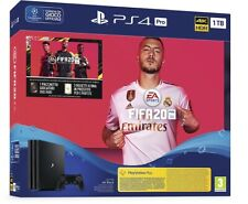 Sony Playstation 4 PS4 1TB PRO Console + Video Gioco Fifa 20 Nuova HDR