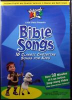 Cedarmont Kids Bible Songs NEW DVD 16 Classic Christian Songs for Kids