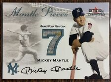 best sneakers b0fba b727a Fleer Mickey Mantle Piece of Authentic Baseball Cards for ...