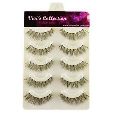 Vivi's Collection 5 Pairs V000 Demi Wispies Hand Made False Eye Lashes Eyelashes