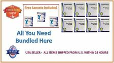 400 PRODIGY BLOOD GLUCOSE TEST STRIPS EXP:03/2019 + FREE (3 LANCETS BOXES) + S&H