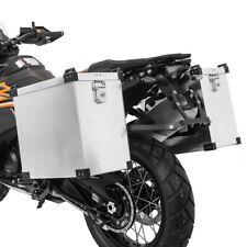 Alukoffer Set 40l + Haltesatz 18mm Moto Guzzi Breva 750/850/1100/1200