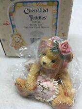 "Cherished Teddies ""Be my Bow"" Cupid Valentine's Day Figurine 1994 By Enesco"