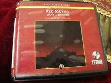 AUDIOBOOK:  'Red Mutiny'  By Neal Bascomb  Unabridged Novel 13 CD Set Ex-Lib  L4