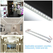 WINOMO 2pcs 5630 LED Rigid Strip Hard Bar Light Recharge Tube Lamp DC 12V US