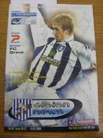 15/01/2000 Autographed Programme: West Bromwich Albion v Port Vale - Hand Signed