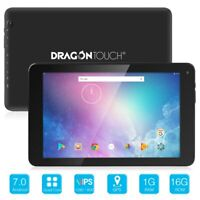 """Dragon Touch V10 10"""" GPS Tablet PC Android 7.0 Quad Core Dual Cam Wifi Refurbish"""