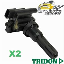 TRIDON IGNITION COIL x2 FOR Lancer CZ (EVO VIII) 06/04-08/05, 4, 2.0L 4G63T