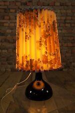 70s Tischlampe Vintage 70er Lampe Space-Age Tischleuchte Sideboard Leuchte Glas