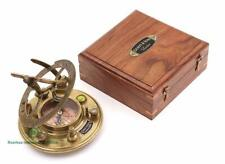 Top Grade Gilbert & Son London Sundial Compass/Perfectly Calibrated Compass