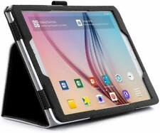 Samsung Galaxy Tab S2 9.7 Case Slim Flip Stand Folio Cover with Hand Strap Black