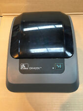 Zebra GX420D GX420 USB Ethernet Direct Thermal Barcode Label Printer