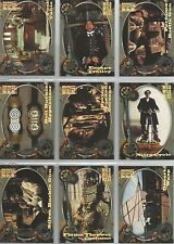 Wild Wild West Movie  Gordon's Gadgets  Chase Set G1 to G9  9 CARD SET BY SKYBOX