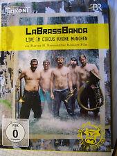 """DVD - """"LABRASSBANDA - LIVE IM CIRCUS KRONE MÜNCHEN""""+neu+ovp++"""