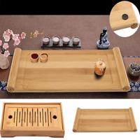 Tasteful Elegant Bamboo Chinese Gongfu Tea Food Server Table Serving Tray Plate