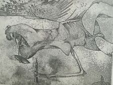 Gianni dova litografia anni 50 firmata