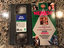 Silver Nemesis VHS! The Making Of Doctor Who! Torchwood EastEnders Casualty