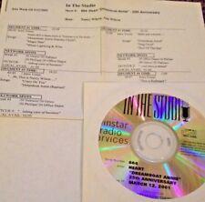 RADIO SHOW: IN THE STUDIO 3/12/01 HEART 'DREAMBOAT ANNIE' 25TH ANNIVERSARY