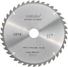 Metabo Kreissägeblatt mit CT 216 x 30 mm (628060000)