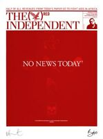 Damien Hirst, The Independent (RED) limited edition signed print