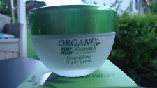 Organix Cosmetix Hemp Valley Nourishing Night Cream 1.69 oz / 50ml