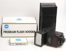 Minolta Programme Flash 4000AF pour La Minolta 5000AF, 7000AF Et 9000AF