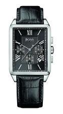 HUGO BOSS rechteckige Armbanduhren mit Datumsanzeige