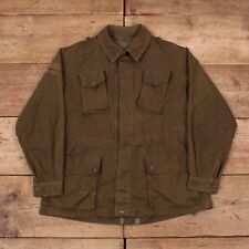 "Mens Vintage Italian Army 1970s Green Combat Field Jacket Medium 40"" XR 9497"