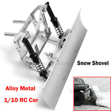 Alloy Metal Snow Shovel Plow Blade for Axial SCX10 SCX10ll Traxxas TRX4 1/10 RC